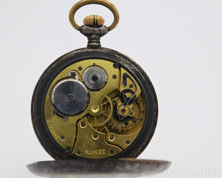 Relojes de bolsillo: ZENITH GRAN PRIX 1900-RELOJ DE BOLSILLO-2 TAPAS-CIRCA 1920-FUNCIONANDO - Foto 14 - 142196926