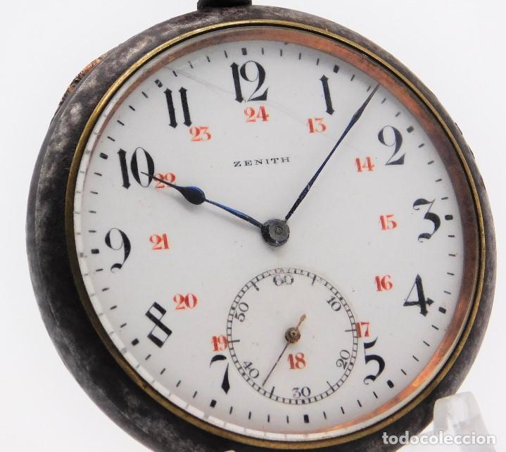 Relojes de bolsillo: ZENITH GRAN PRIX 1900-RELOJ DE BOLSILLO-2 TAPAS-CIRCA 1920-FUNCIONANDO - Foto 15 - 142196926