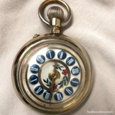 Relojes de bolsillo: RELOJ BOLSILLO CUERDA COURVOISIER FRERES - FUNCIONA -. Lote 142387480
