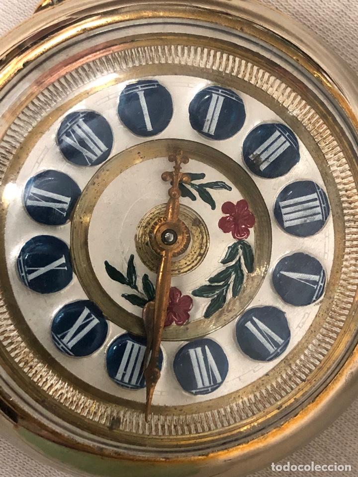 Relojes de bolsillo: RELOJ BOLSILLO CUERDA COURVOISIER FRERES - FUNCIONA - - Foto 5 - 142387480