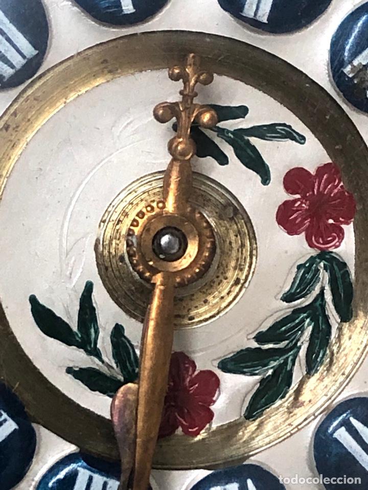 Relojes de bolsillo: RELOJ BOLSILLO CUERDA COURVOISIER FRERES - FUNCIONA - - Foto 6 - 142387480