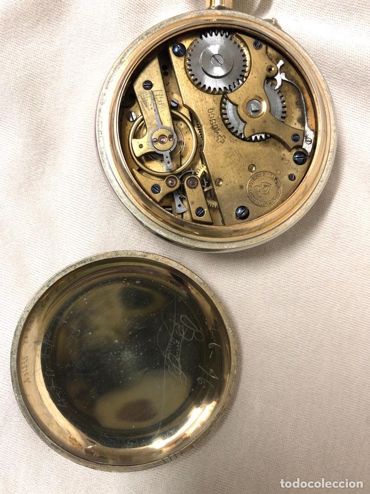 Relojes de bolsillo: RELOJ BOLSILLO CUERDA COURVOISIER FRERES - FUNCIONA - - Foto 9 - 142387480