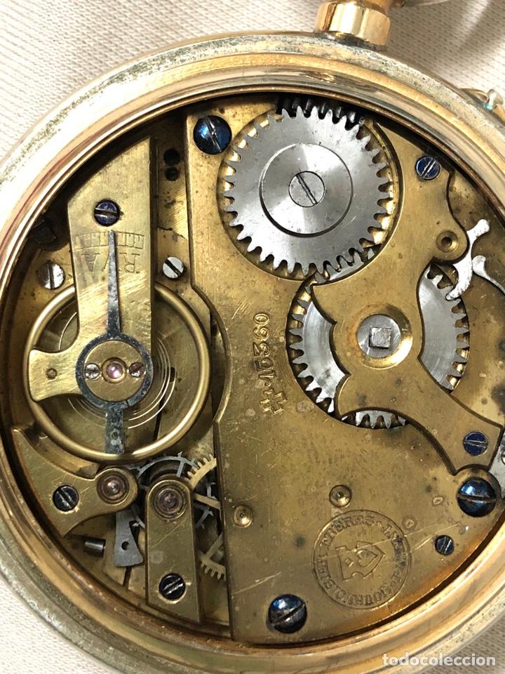 Relojes de bolsillo: RELOJ BOLSILLO CUERDA COURVOISIER FRERES - FUNCIONA - - Foto 13 - 142387480