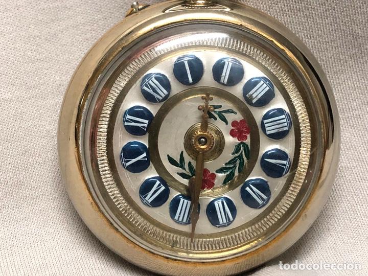 Relojes de bolsillo: RELOJ BOLSILLO CUERDA COURVOISIER FRERES - FUNCIONA - - Foto 14 - 142387480