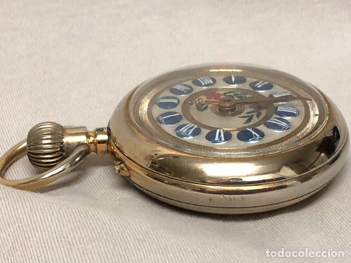 Relojes de bolsillo: RELOJ BOLSILLO CUERDA COURVOISIER FRERES - FUNCIONA - - Foto 15 - 142387480