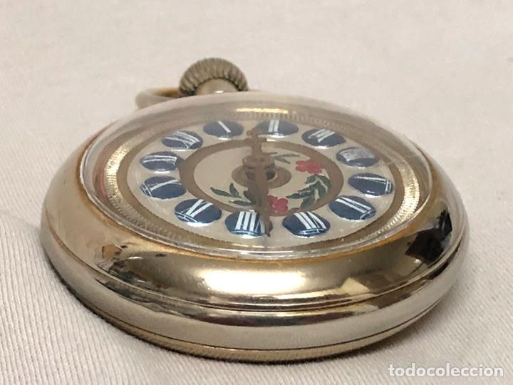 Relojes de bolsillo: RELOJ BOLSILLO CUERDA COURVOISIER FRERES - FUNCIONA - - Foto 16 - 142387480