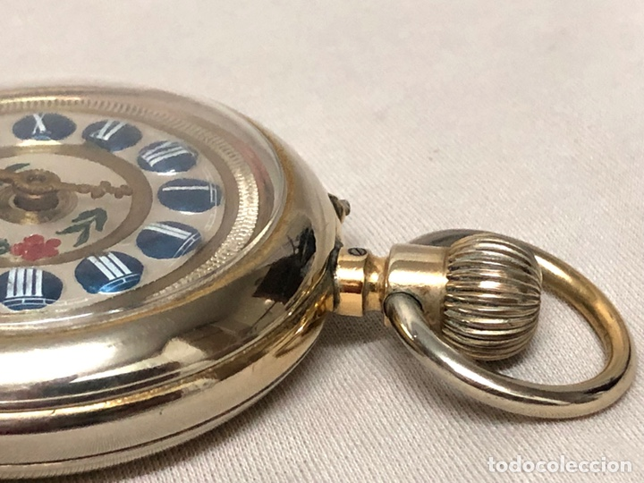 Relojes de bolsillo: RELOJ BOLSILLO CUERDA COURVOISIER FRERES - FUNCIONA - - Foto 18 - 142387480