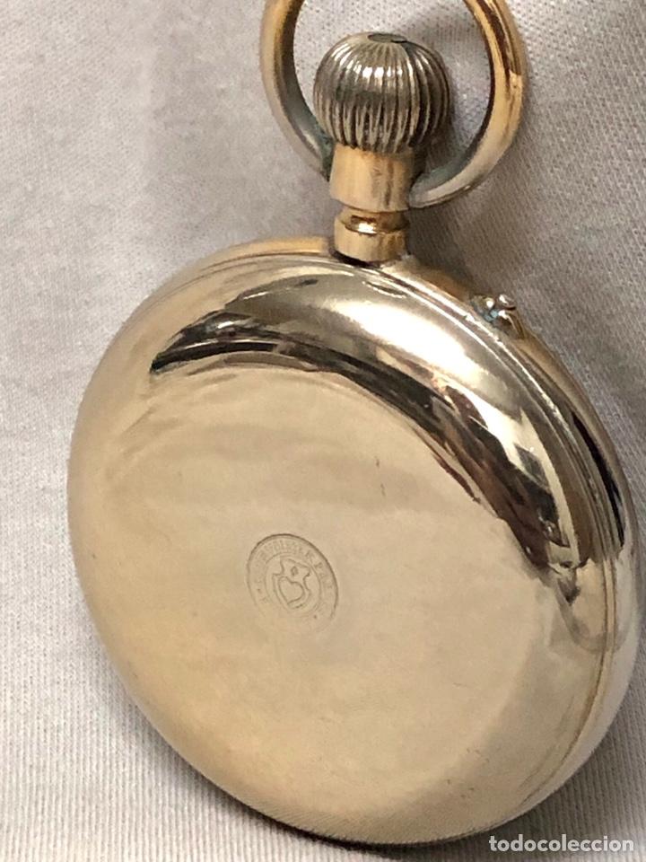 Relojes de bolsillo: RELOJ BOLSILLO CUERDA COURVOISIER FRERES - FUNCIONA - - Foto 21 - 142387480