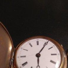 Relojes de bolsillo: RELOJ DE BOLSILLO SUIZO (FUNCIONA). Lote 142418634