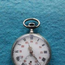 Relojes de bolsillo: RELOJ MARCA ARGENTAN DE BOLSILLO, ANTIGUO PARA CABALLERO. . Lote 142453826