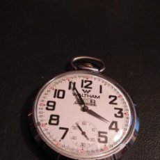 Relojes de bolsillo: RELOJ DE BOLSILLO WALTHAM (FUNCIONANDO). Lote 142686142