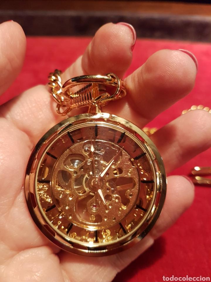Relojes de bolsillo: Reloj de bolsillo de cuerda - Foto 6 - 142714353