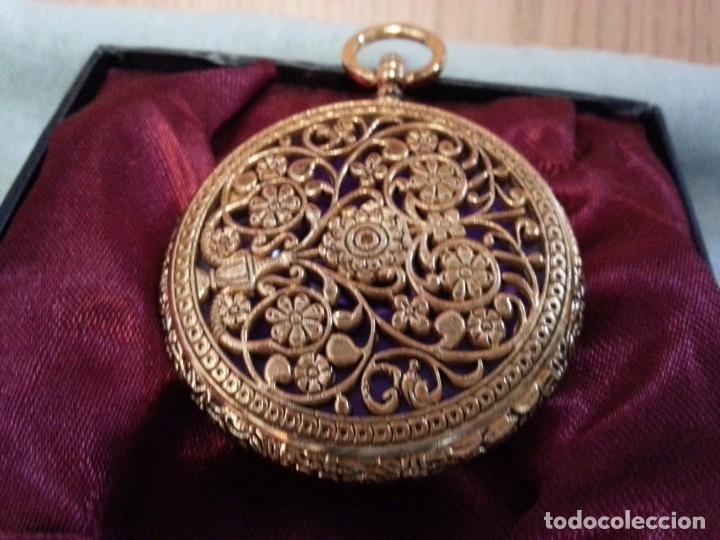 Relojes de bolsillo: Relojes de bolsillo. Pareja. Reproducciones de antiguos relojes. Nuevos. Funcionando - Foto 5 - 142879810