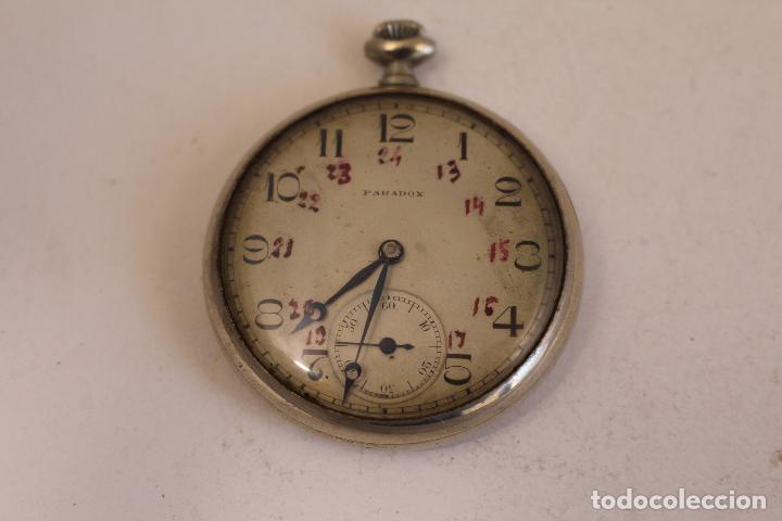 RELOJ DE BOLSILLO PARADOX,, FUNCIONANDO (Relojes - Bolsillo Carga Manual)