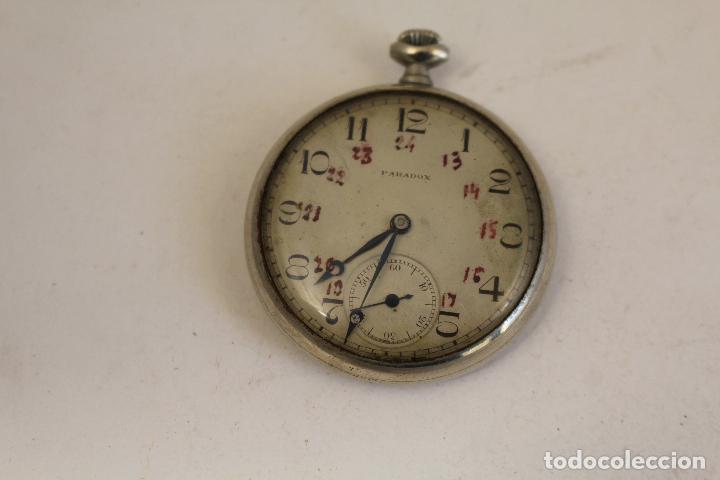 Relojes de bolsillo: RELOJ DE BOLSILLO PARADOX,, FUNCIONANDO - Foto 4 - 143245806