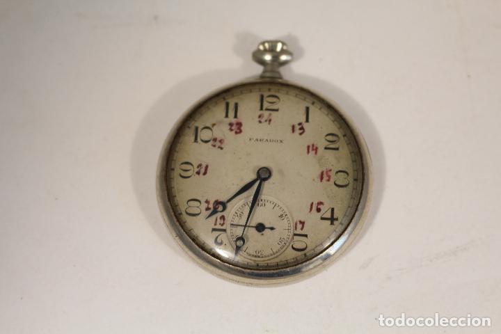 Relojes de bolsillo: RELOJ DE BOLSILLO PARADOX,, FUNCIONANDO - Foto 6 - 143245806