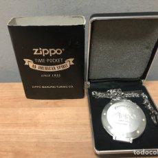Relojes de bolsillo: RELOJ ZIPPO DE BOLSILLO EDICIÓN ESPECISL. Lote 143324301