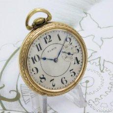 Relojes de bolsillo - ELGIN-PRECIOSO Y RARO RELOJ BOLSILLO-GRAN TAMAÑO-17 JEWELS-CIRCA 1911-FUNCIONANDO - 143374226