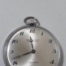 Relojes de bolsillo: RELOJ THERMIDOR DE CUERDA .FUNCIONANDO. Lote 143445110
