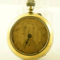 Relojes de bolsillo: CURIOSO RELOJ DE BOLSILLO ANDA Y PARA. Lote 143474206