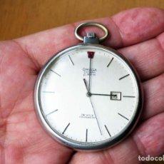 Relojes de bolsillo: OMEGA DEVILLE F300 DE BOLSILLO. CALIBRE 9162.. Lote 143552894