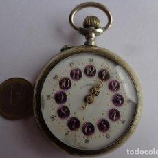 Relojes de bolsillo: MUY ANTIGUO (SOBRE 1900) ENORME PRECIOSO RELOJ BOLSILLO ROSKOPF COMPLETO FUNCIONANDO PERFECTO. Lote 143565658