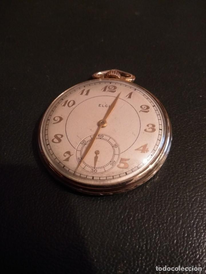 RELOJ DE BOLSILLO ELGIN U.S.A. ( FUNCIONA) (Relojes - Bolsillo Carga Manual)