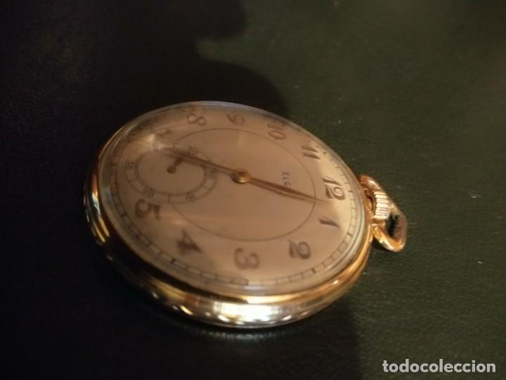 Relojes de bolsillo: Reloj de bolsillo ELGIN U.S.A. ( Funciona) - Foto 2 - 143800262