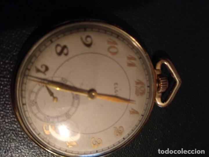 Relojes de bolsillo: Reloj de bolsillo ELGIN U.S.A. ( Funciona) - Foto 3 - 143800262