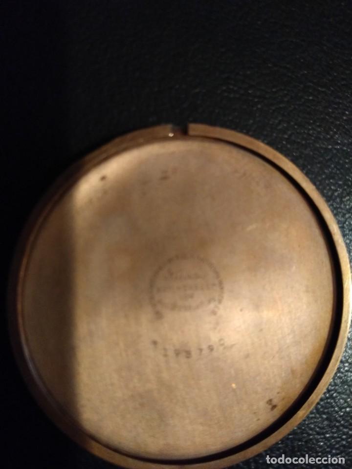 Relojes de bolsillo: Reloj de bolsillo ELGIN U.S.A. ( Funciona) - Foto 9 - 143800262