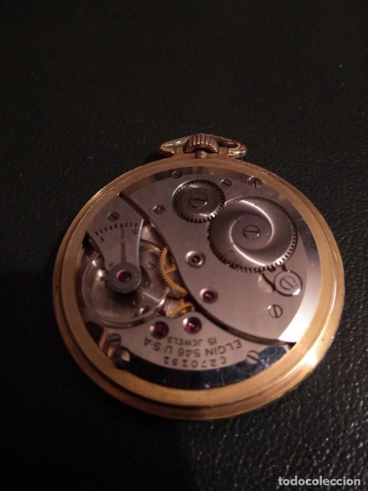 Relojes de bolsillo: Reloj de bolsillo ELGIN U.S.A. ( Funciona) - Foto 10 - 143800262