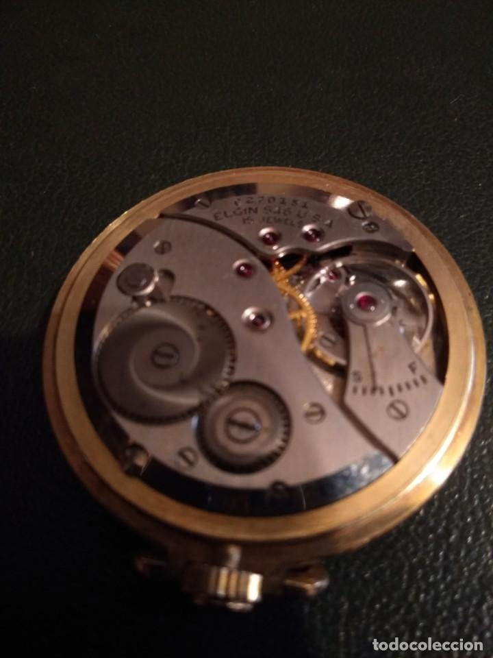 Relojes de bolsillo: Reloj de bolsillo ELGIN U.S.A. ( Funciona) - Foto 11 - 143800262