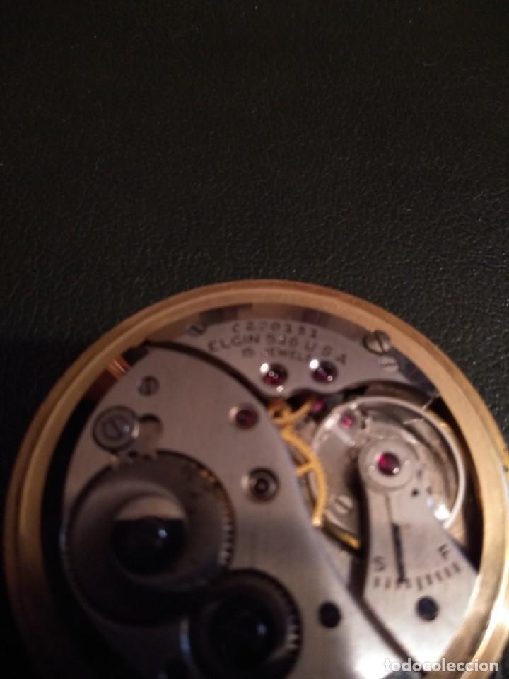 Relojes de bolsillo: Reloj de bolsillo ELGIN U.S.A. ( Funciona) - Foto 13 - 143800262