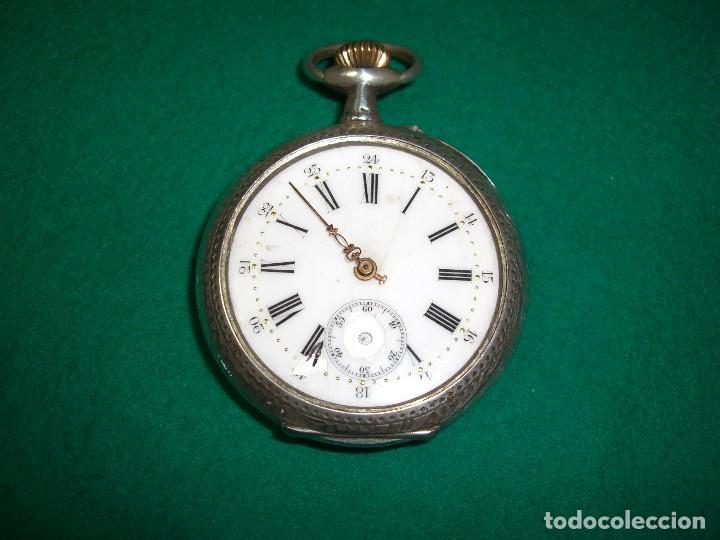 RELOJ DE BOLSILLO PLATA DE LEY (Relojes - Bolsillo Carga Manual)