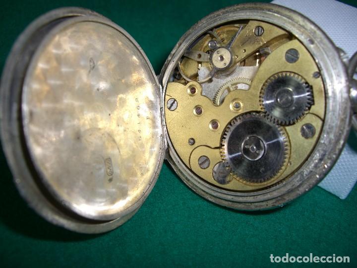 Relojes de bolsillo: RELOJ DE BOLSILLO PLATA DE LEY - Foto 5 - 143930286