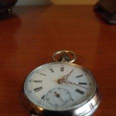 Relojes de bolsillo: RELOJ DE BOLSILLO 2 COLORES (FUNCIONA). Lote 144110098