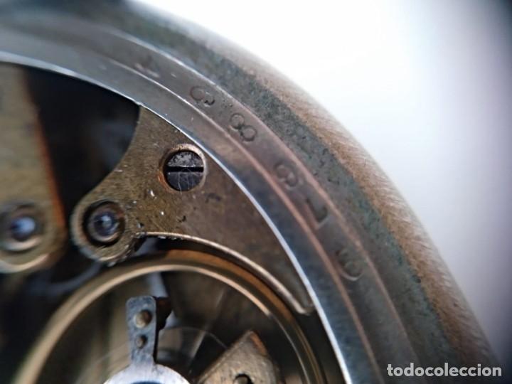 Relojes de bolsillo: Reloj de bolsillo Roskopf, de Cuervo y Sobrinos, La Habana. Con cadena. La maquinaria funciona bien - Foto 4 - 144320586
