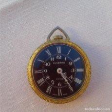 Relojes de bolsillo: RELOJ DE BOLSILLO LUCERNE A CUERDA, DORADO. Lote 144519426