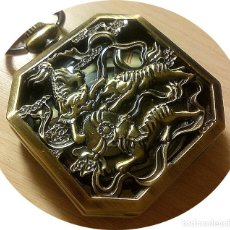 Relojes de bolsillo: RELOJ EXAGONAL LATON. Lote 144564022