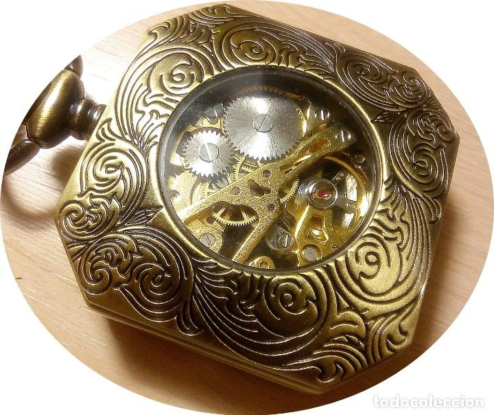Relojes de bolsillo: RELOJ EXAGONAL - Foto 2 - 144564022