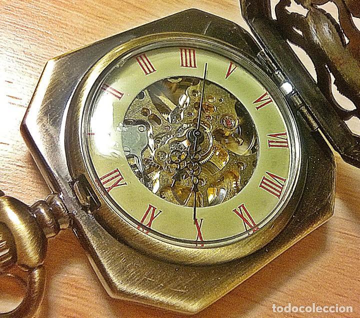 Relojes de bolsillo: RELOJ EXAGONAL - Foto 3 - 144564022