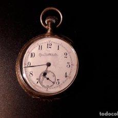 Relojes de bolsillo: RELOJ DE BOLSILLO ELGIN NATL WATCH CO,DORADO. Lote 144572018