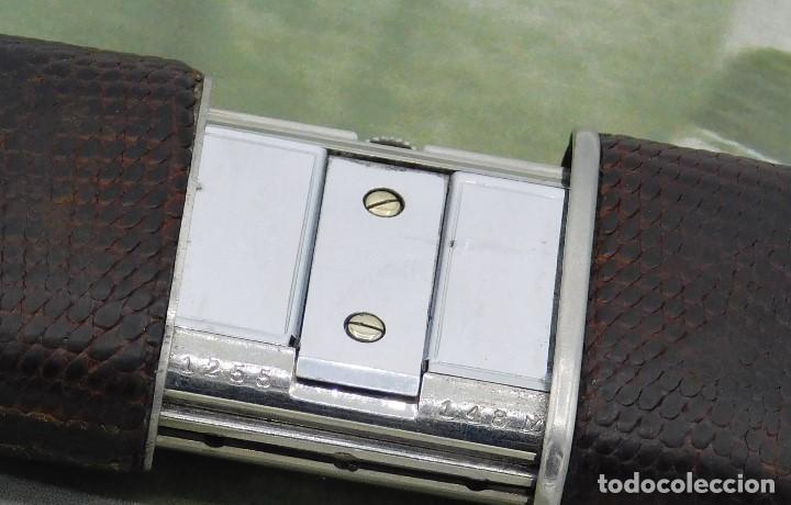 Relojes de bolsillo: MOVADO ERMETO- RARO Y ANTIGUO RELOJ DE BOLSILLO-AUTOMATICO-CIRCA 1930-1948-FUNCIONANDO - Foto 5 - 144586938