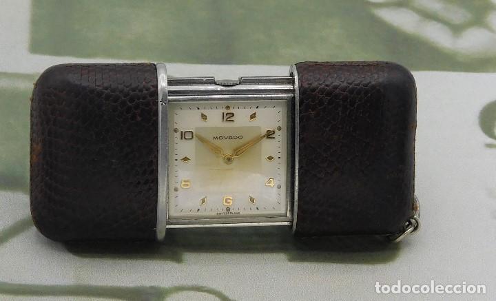 Relojes de bolsillo: MOVADO ERMETO- RARO Y ANTIGUO RELOJ DE BOLSILLO-AUTOMATICO-CIRCA 1930-1948-FUNCIONANDO - Foto 6 - 144586938