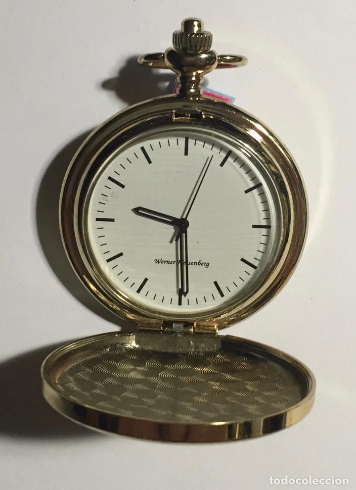 RELOJ BOLSILLO CON MAQUINA DE CUERDA ( VER LAS FOTOS ) . 46,5 M/M. Ø (Relojes - Bolsillo Carga Manual)