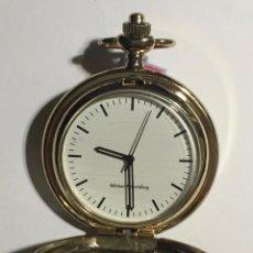 Relojes de bolsillo: RELOJ BOLSILLO CON MAQUINA DE CUERDA ( VER LAS FOTOS ) . 46,5 M/M. Ø. Lote 144890182