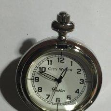 Relojes de bolsillo: RELOJ BOLSILLO CON MAQUINA MIYOTA QUARTZ ( VER LAS FOTOS ) 41 M/M. Ø. Lote 144892666