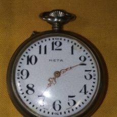 Relojes de bolsillo: RELOJ META. Lote 145063558