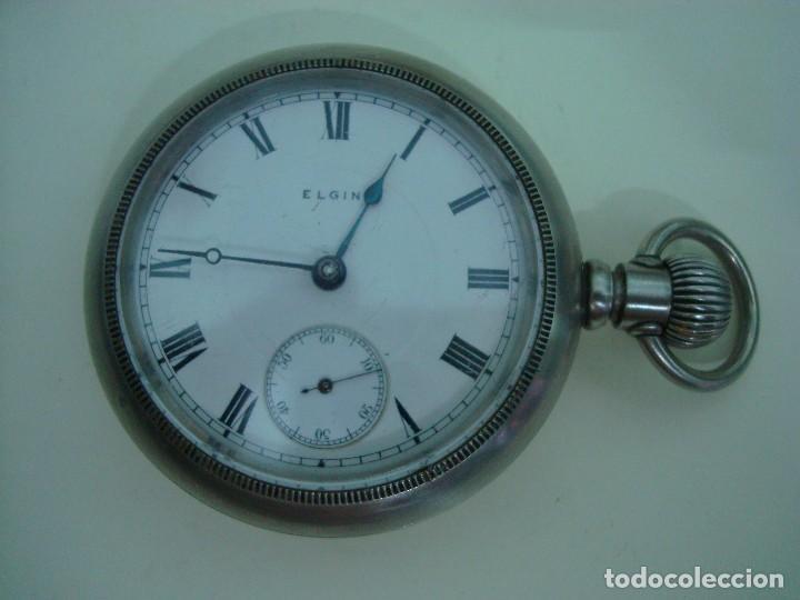 Relojes de bolsillo: ELGIN BISEL A ROSCA - Foto 2 - 145126566