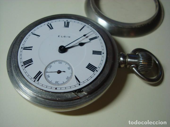 Relojes de bolsillo: ELGIN BISEL A ROSCA - Foto 3 - 145126566